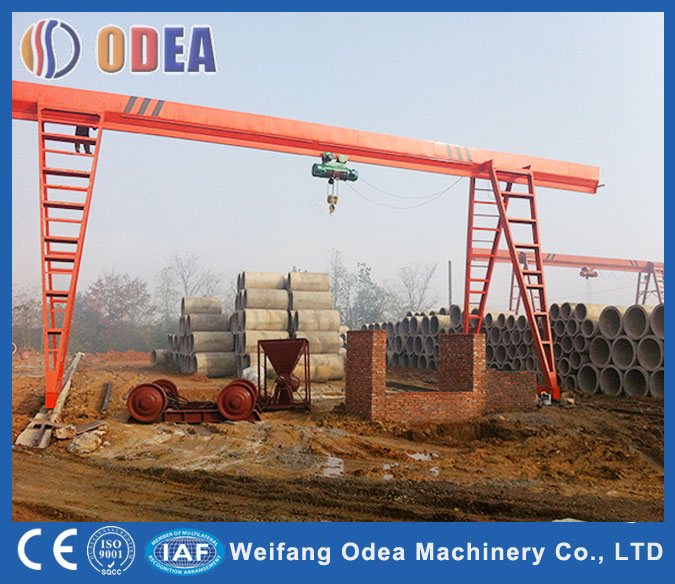 5-20ton Single Girder Gantry Crane
